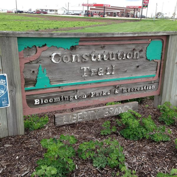 Constitution Trail Sign